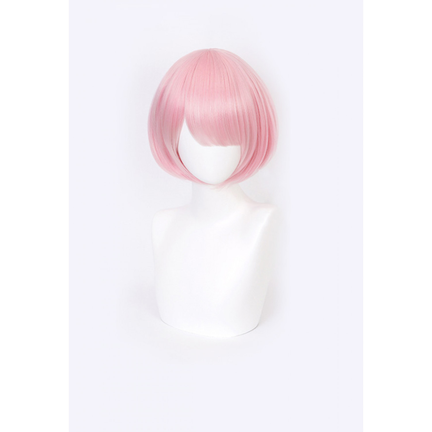 Re Zero Starting Life in Another World Rem Red Short Cosplay Wig
