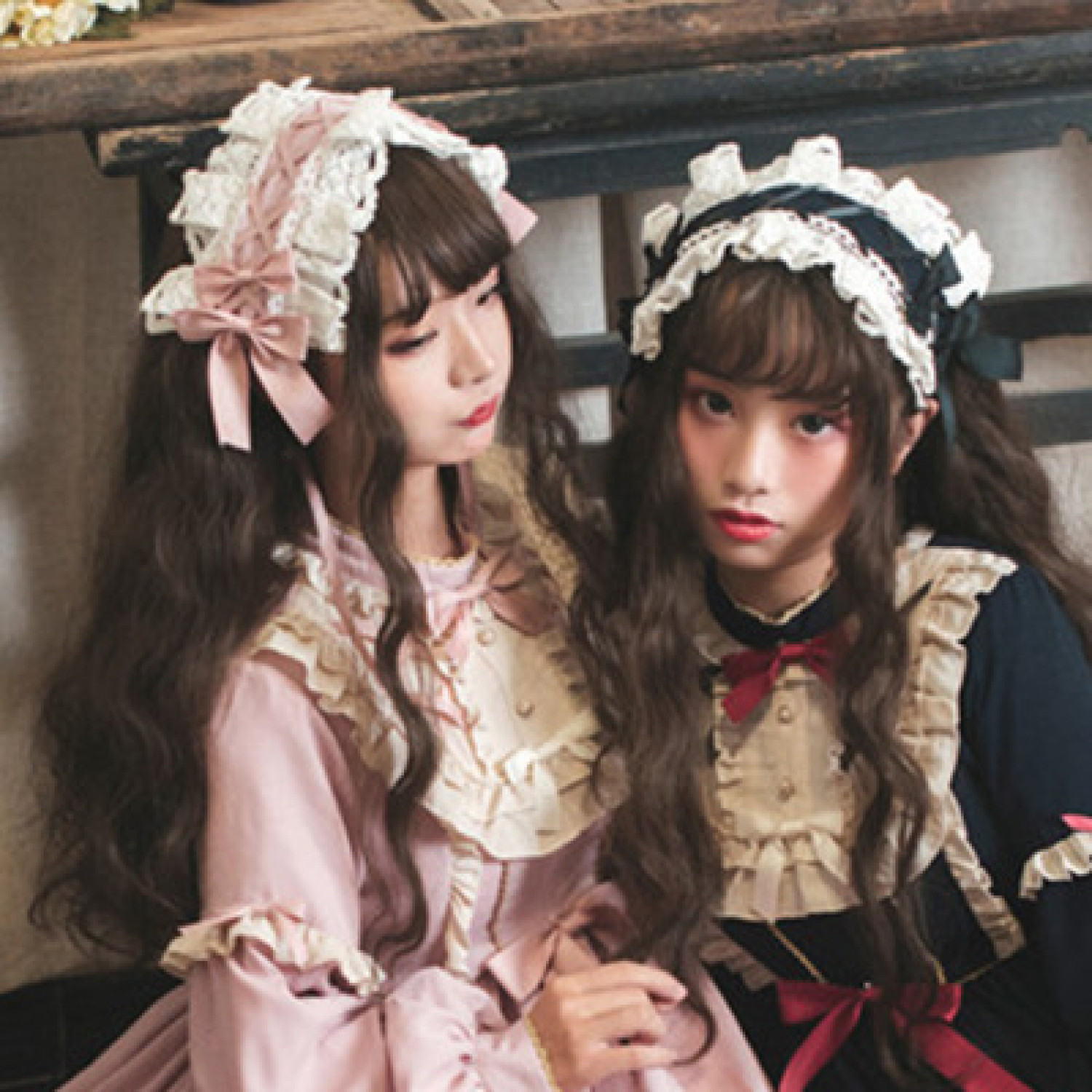 New models in spring Lolita Headdress
