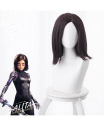 Alita Battle Angel Alita Brown Short Anime Cosplay Wig