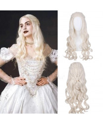 Alice Through the Looking Glass Alice in Wonderland 2 The White Queen Cosplay Wig