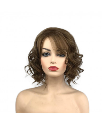 Short curly Synthetic Hair Wig for Women