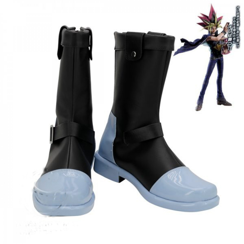 Yuu Gi Ou Yami Yugi Cosplay Boots