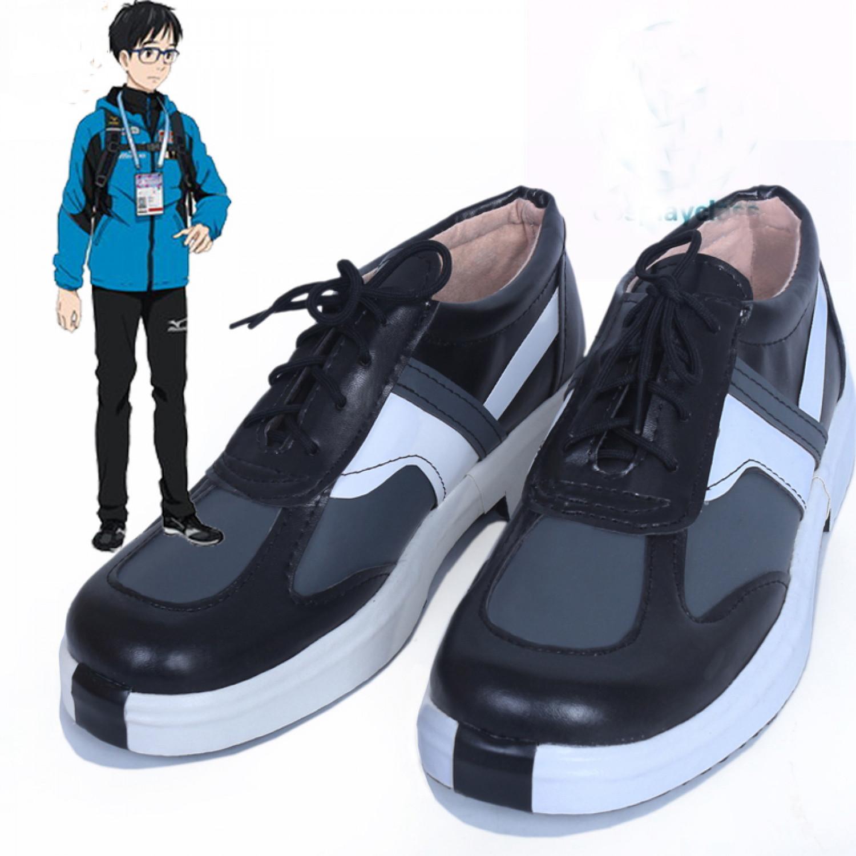 YURI!!! on ICE Yuri Katsuki Cosplay Shoes