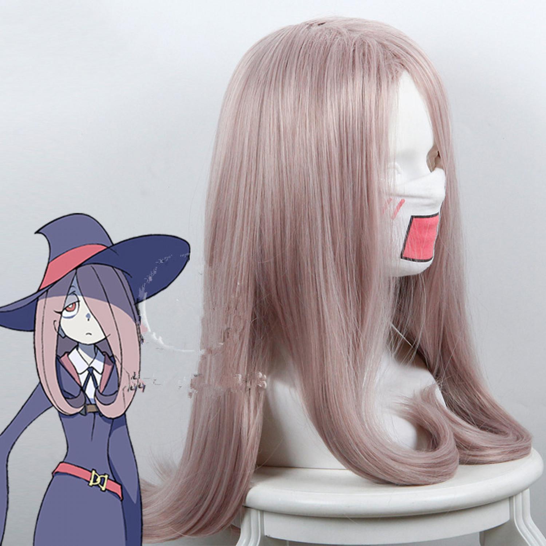 Little Witch Academia Sucy Manbavaran Cosplay Wig 60 cm