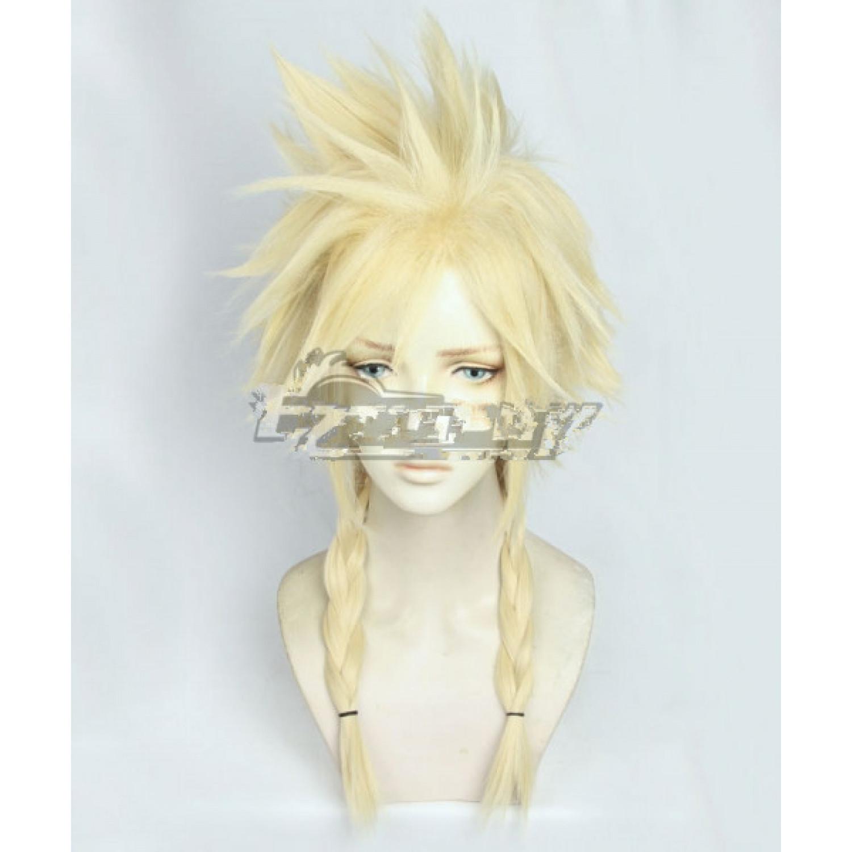 Final Fantasy VII Remake Cloud Strife Cosplay Wig