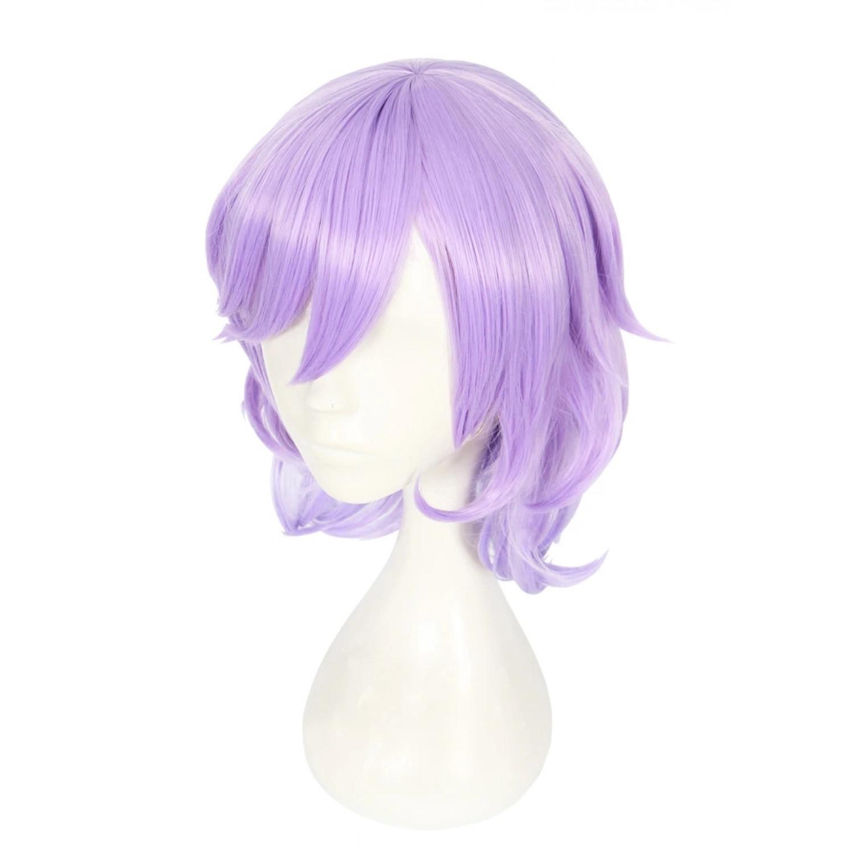 Disney Twisted Wonderland Felmier Light Purple Cosplay Wig