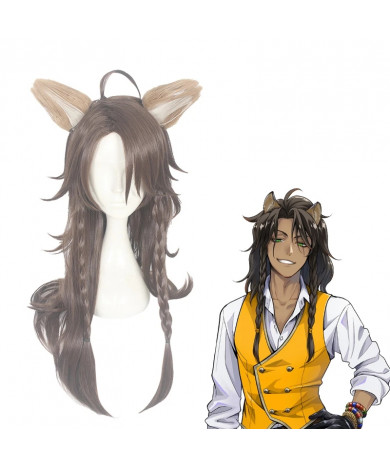 Disney Twisted Wonderland Leona Kingscholar Cosplay Wig