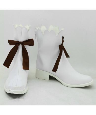 2015 Game Cosplay Shoes for Yuki Miku/Snow Miku