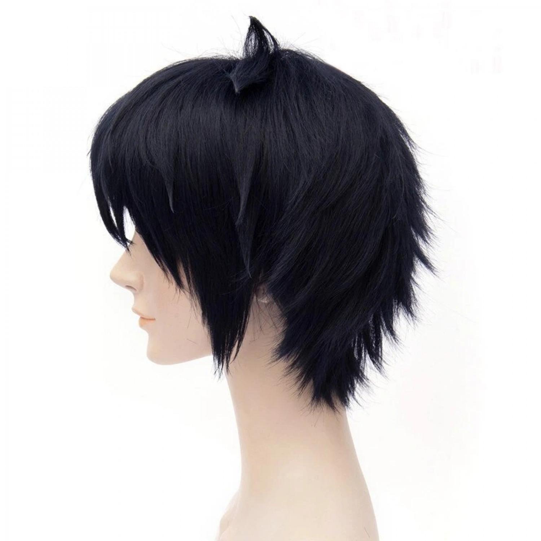 Seraph of the End Yuichiro Hyakuya Black Anime Cosplay Wig