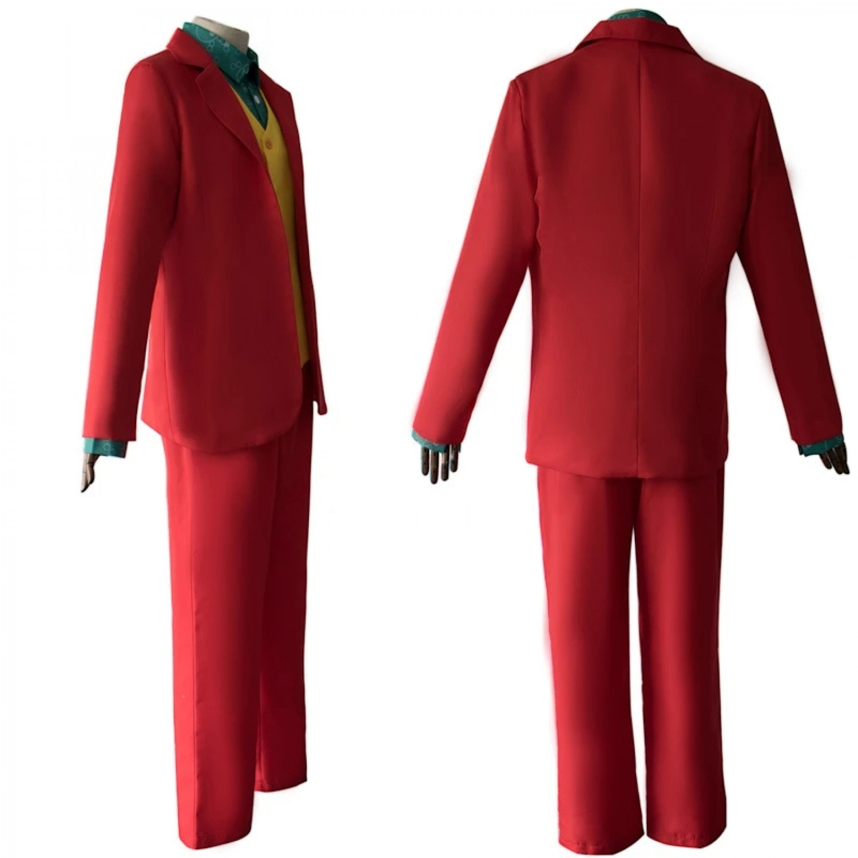 The Joker Arthur Fleck Cosplay Costume