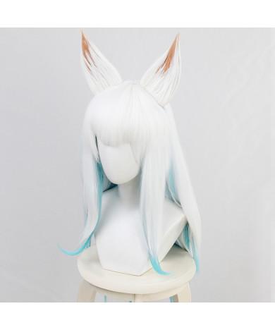 LoL League of Legends Spirit Blossom Ahri the Nine-Tailed Fox Cosplay Wig