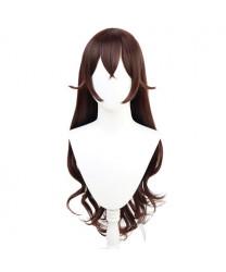 Genshin Impact Beidou Brown Cosplay Wig