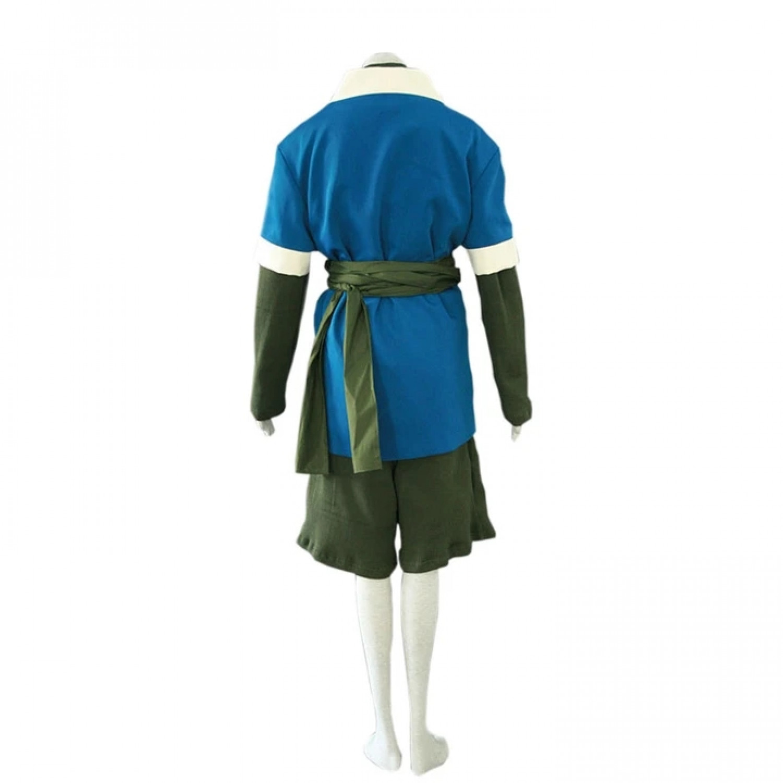 Naruto Haku kimono Set Anime Cosplay Costume