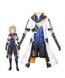 Genshin Impact Albedo Fullset Cosplay Costumes