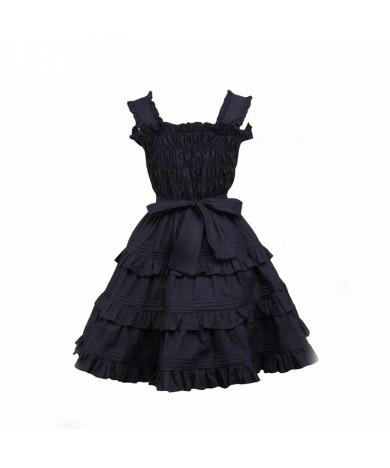 Sleeveless Solid Color Pink Knee Length Dress Lolita Girls' Dress Accessories