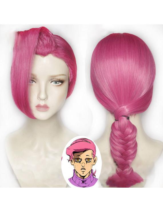 JoJo bizarre adventure Vinegar Doppio Cosplay Costume Wig + Wig Cap