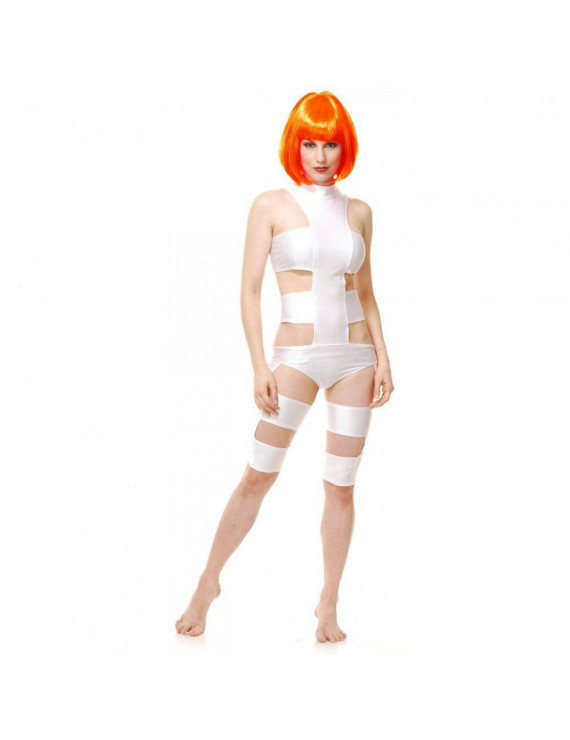 The Fifth Element Leeloo Cosplay Costume