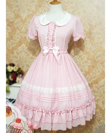 Sweet Lolita Students Lolita Dress Jsk Sling Dress
