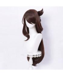 Genshin Impact Beidou Long Cosplay Wig 80 cm + Wig Cap