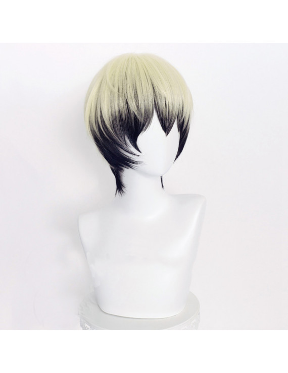 Cosplay Wig for Jujutsu Kaisen Zen'in Naoya Pink Mixed Black Wig