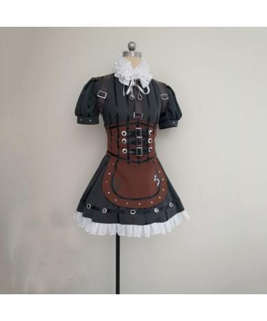 Alice Madness Returns Alice Steam Skirt Cosplay Costume