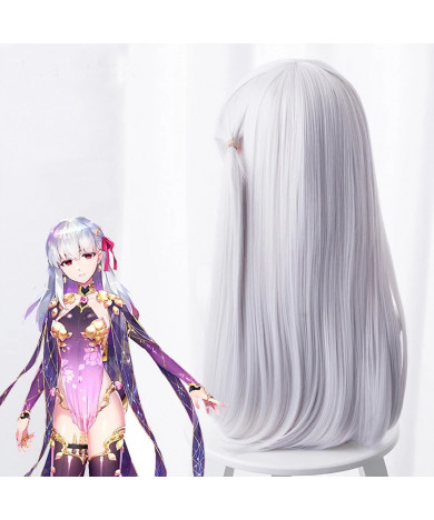 Fate Grand Order Assassin Kama Game Styled Cosplay wigs+Wig cap
