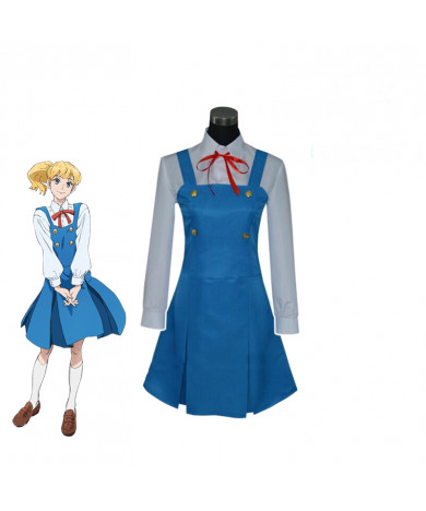 ACCA:13 Territory Inspection Dept Lotta Otus Suit skirt Cosplay Costume