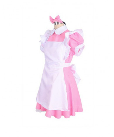 Lolita Lapel Maid Dress restaurant attendant uniform can be customized in color