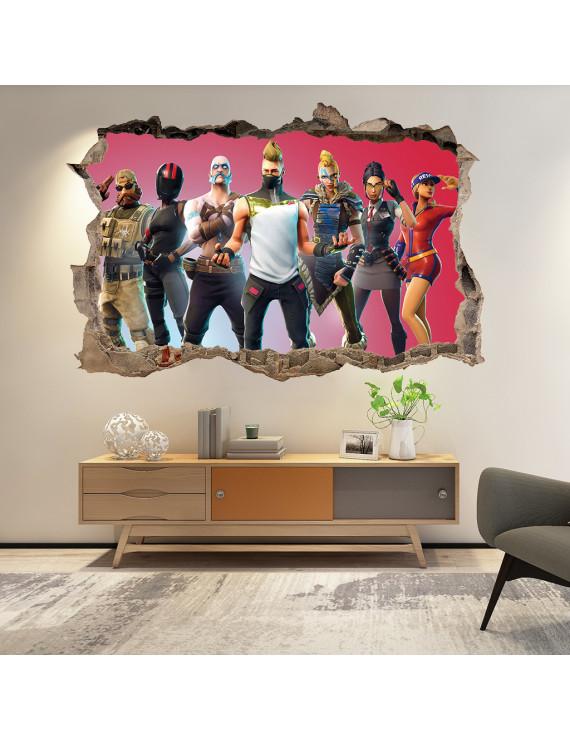 Fortnite PVC Wallpaper Decorative Painting