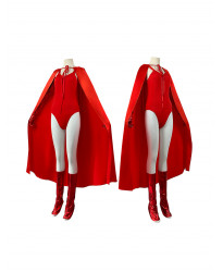 Wanda Vision Wanda Django Maximoff Cosplay Costume