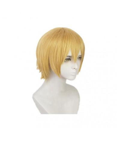 Fire Force Arthur Boyle Anime Style Cosplay Wig