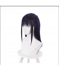 Jujutsu Kaisen Iori Utahime Dark Purple Anime Style Cosplay Wig