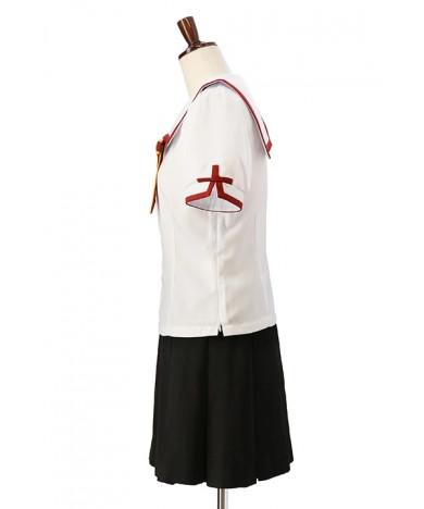 The women's summer uniform of the himeigahara Gakuen elementary school that irisufel von aininberg