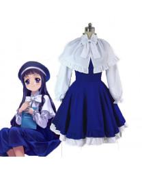 Cardcaptor Sakura Tomoyo Daidouji Cosplay Costume