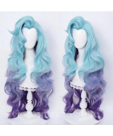 Purple Seraphine Wig Purple League of Legends LOL Styling Cosplay Wig