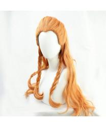 Genshin Impact Aloy Cosplay Wig + Wig Cap