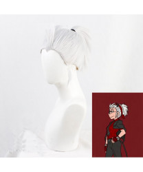 Helltaker Justice Cosplay Wig